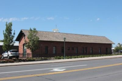 Flagstaff, bâtiment de la gare