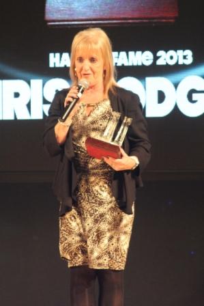 ... accueillent Chris Hodgson dans le Hall of Fame