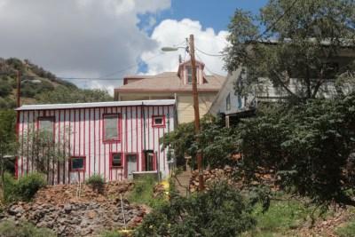 Bisbee - les maisons colorées