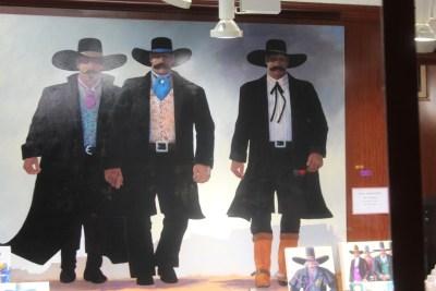 """Sedona : Tableau du """"Règlement de Comptes à OK Corral"""""""