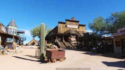 Le Saloon de Goldfield