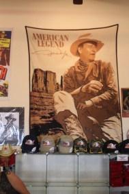 Visitor Center de Monument Valley - John Wayne, American Legend !