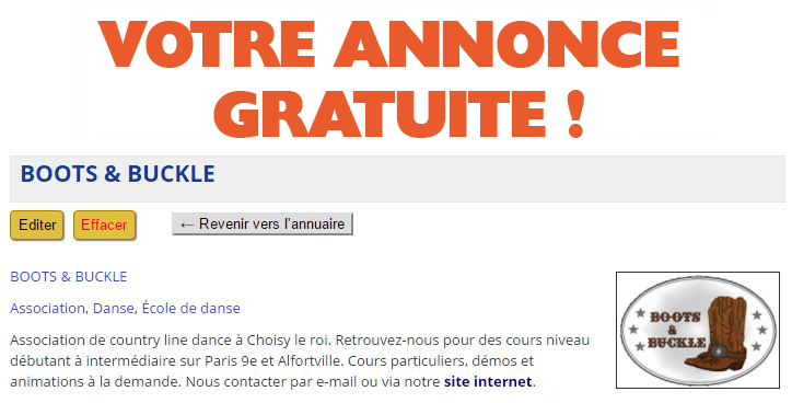 Annonce Gratuite Guide Country-France