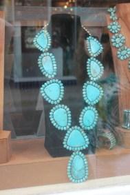 Collier de turquoises