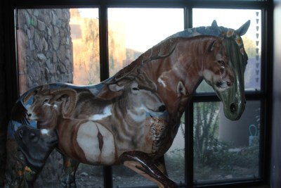 Sculpture dans la boutique du Musée.