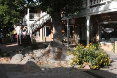 Le centre ville de Taos