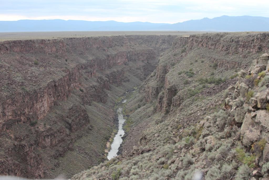 Taos, les gorges du Rio Grande