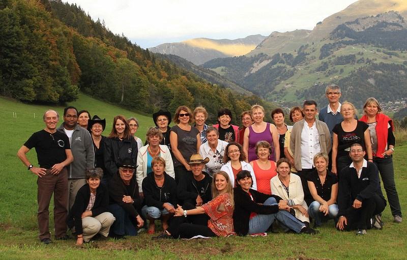 Groupe St-Jean-de-Sixt Octobre 2014