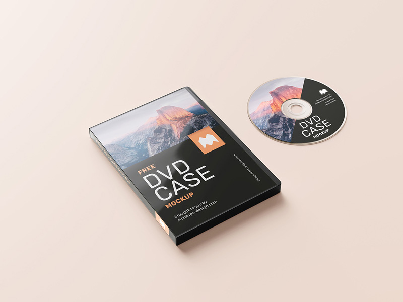 Download Free DVD Case Mockup - Counrty4k