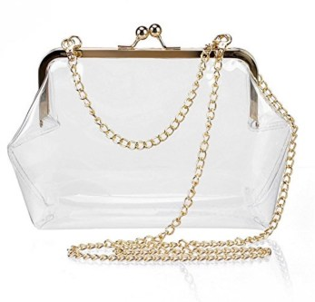 clear purse for festivals and concerts