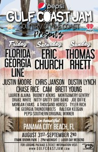 2018 gulf coast jam lineup