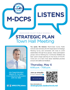 Town Hall Meeting with Superintendent Carvalho
