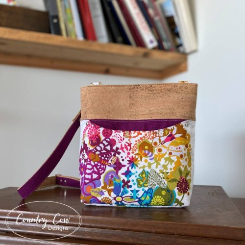 Teloujay Small Crossbody - PDF Sewing Pattern by Country Cow Designs