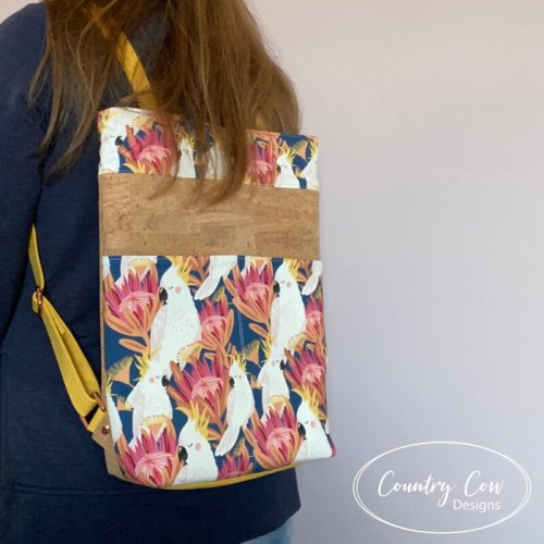 Cornish Backpack by Country Cow Designs