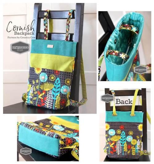 Cornish Backpack Made by Barabooboo Designs