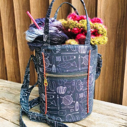 Kelzjon bag made by Thread & Soul
