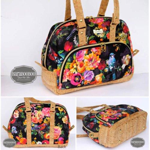 Vekza Bowler Bag - Made by Barabooboo Designs