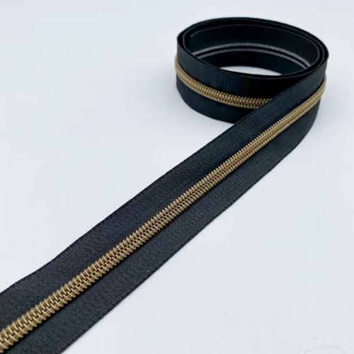 Black Brass Zip Tape