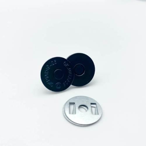 Matte Black Magnetic Snaps