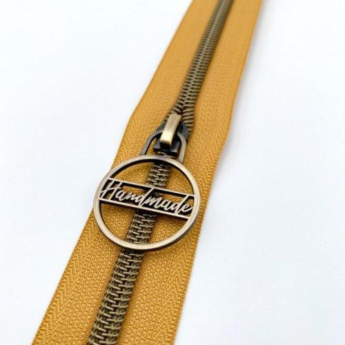 Handmade Vertical Only Zip Pulls