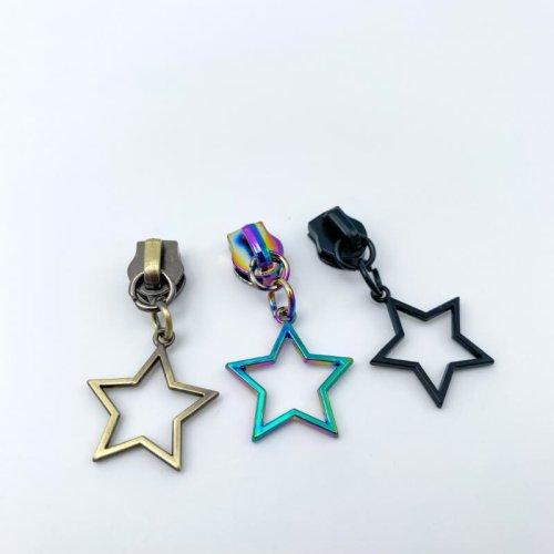 Star Zip Pulls