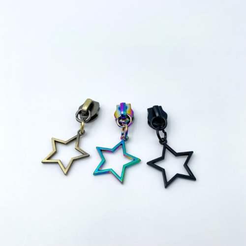 Star No.5 Zip Pulls