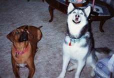 Tori and Sadie