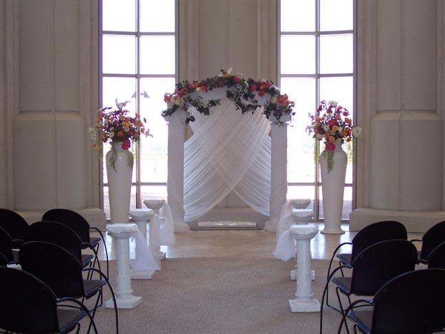 Wedding Garden Arches, White Iron Arches, Country
