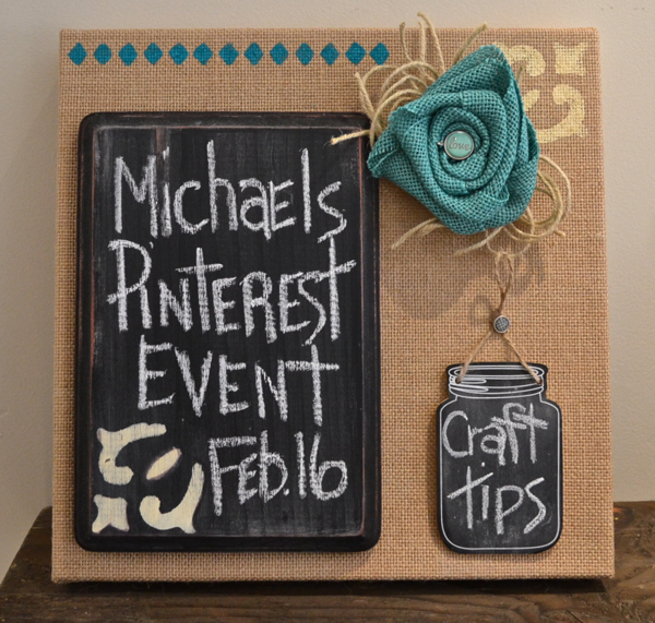 Michaels and Hometalk Pinterest Event - Country Design Style
