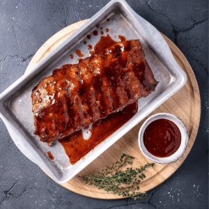 Chinese Rack of Pork Loin Ribs