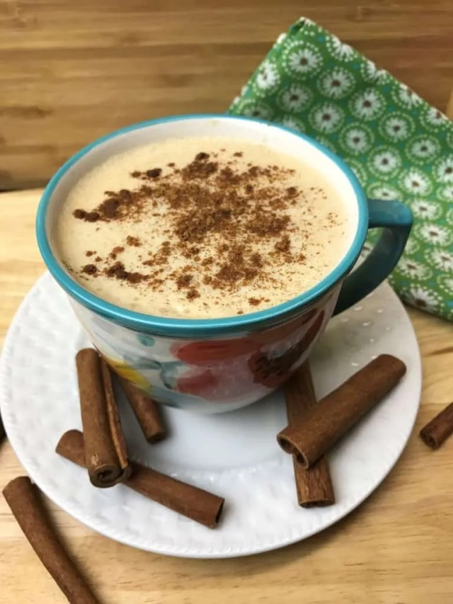 Sweet Cinnamon Latte (THM-FP, Sugar Free)