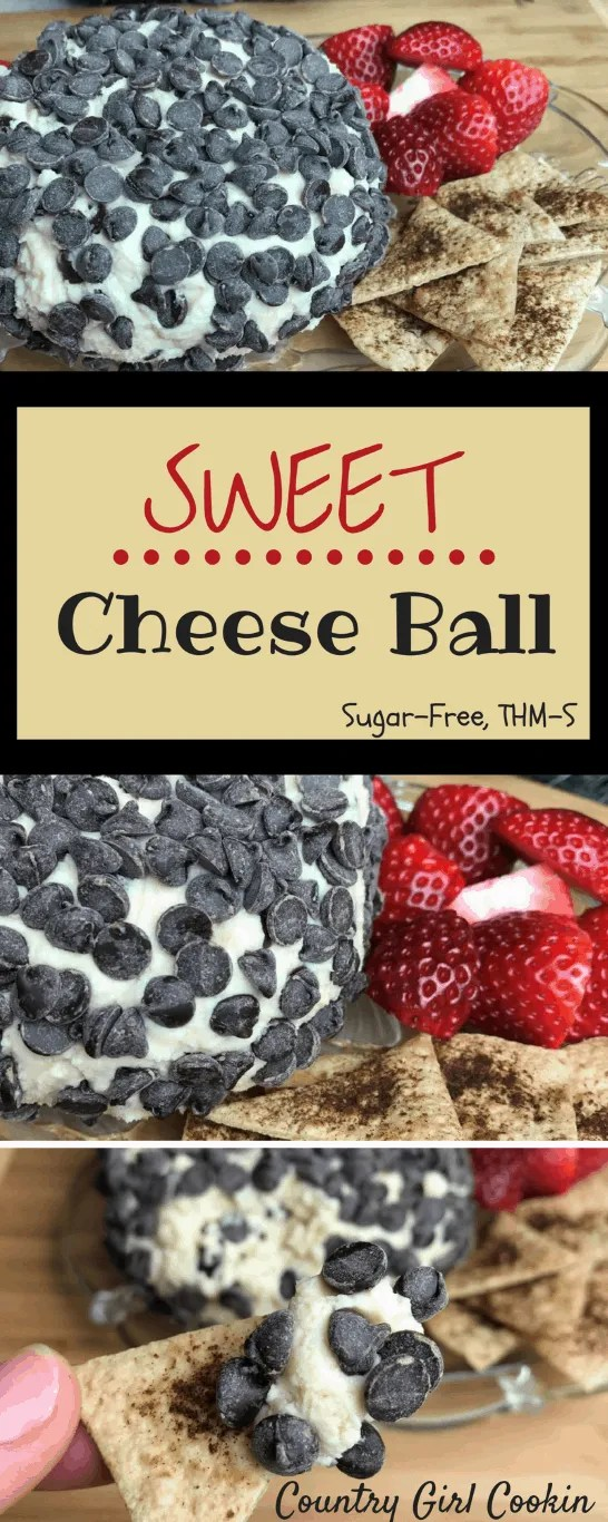 Sweet Cheese Ball (Sugar-Free, THM-S)