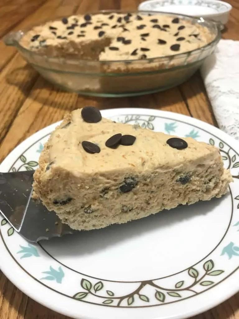 Peanut Butter Cream Pie (THM-S, Low Carb, Sugar Free)