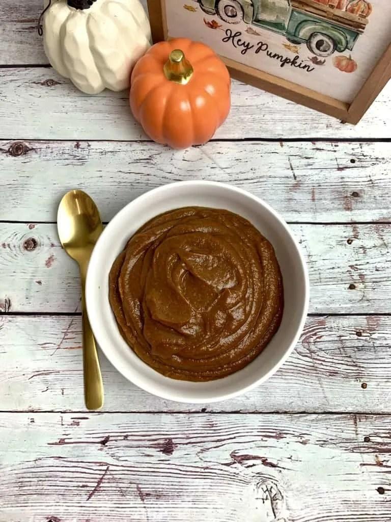 Low Carb Pumpkin Butter (THM-FP, Sugar Free)