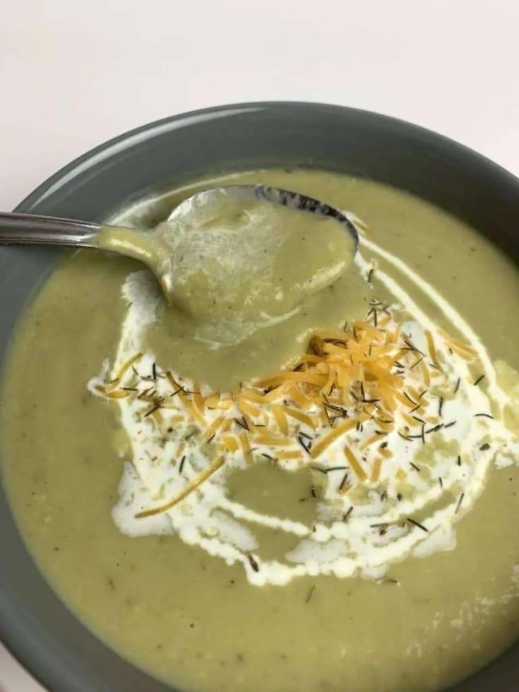 Instant Pot Creamy Broccoli Soup