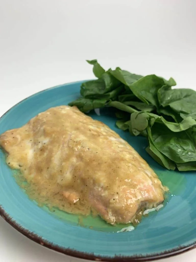 Easy Baked Salmon (THM-S, Low Carb)