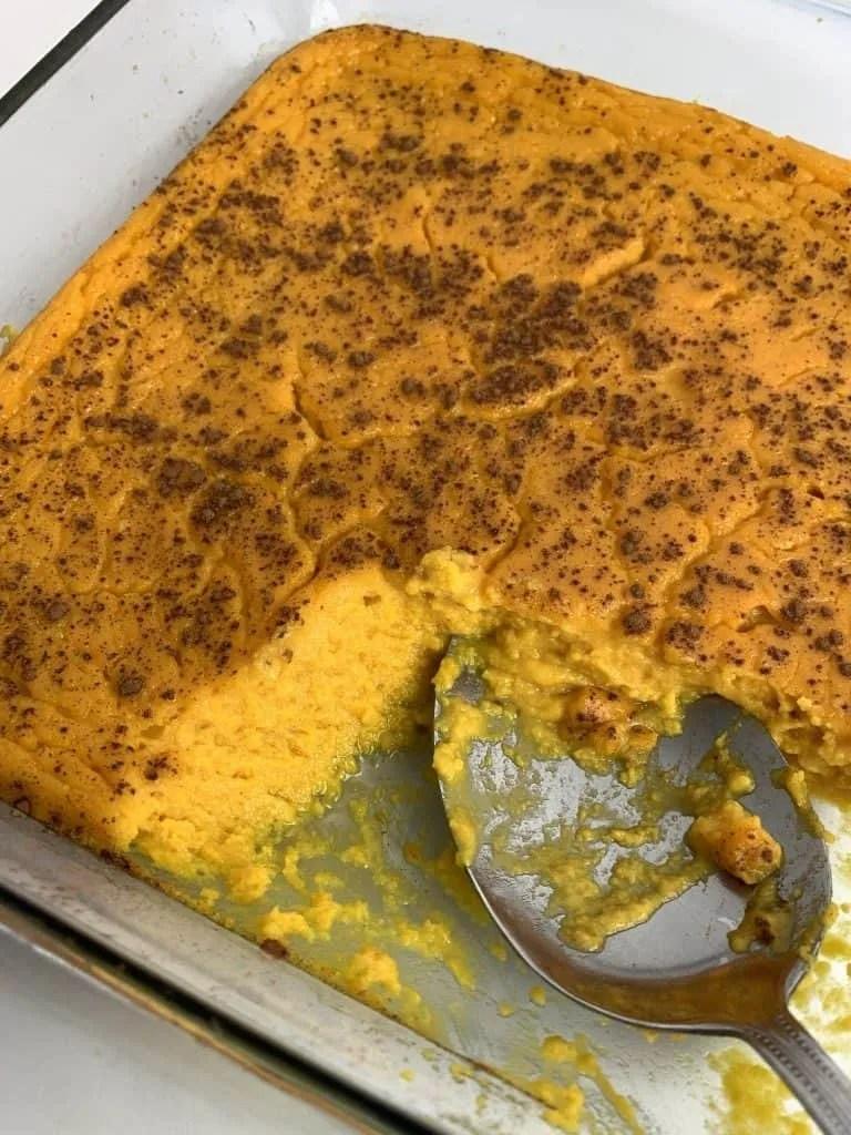 Butternut Squash Casserole (THM-S, Low Carb, Gluten Free, Sugar Free)