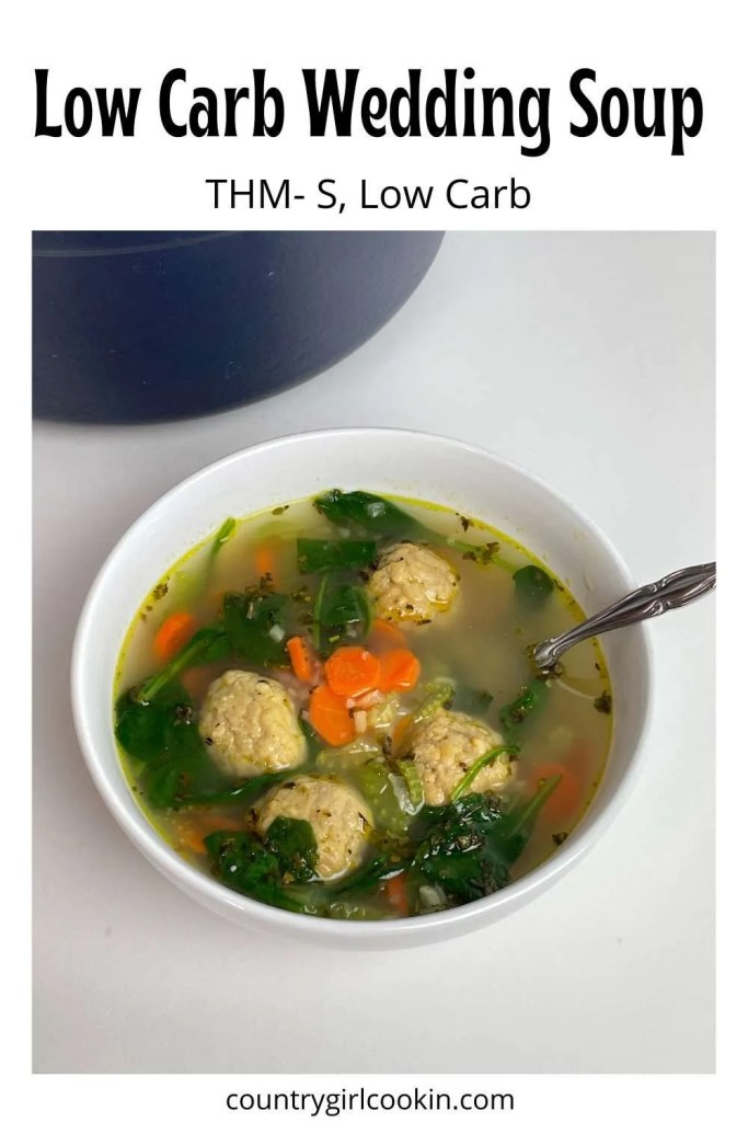 Low Carb Wedding Soup (THM-S, Low Carb)