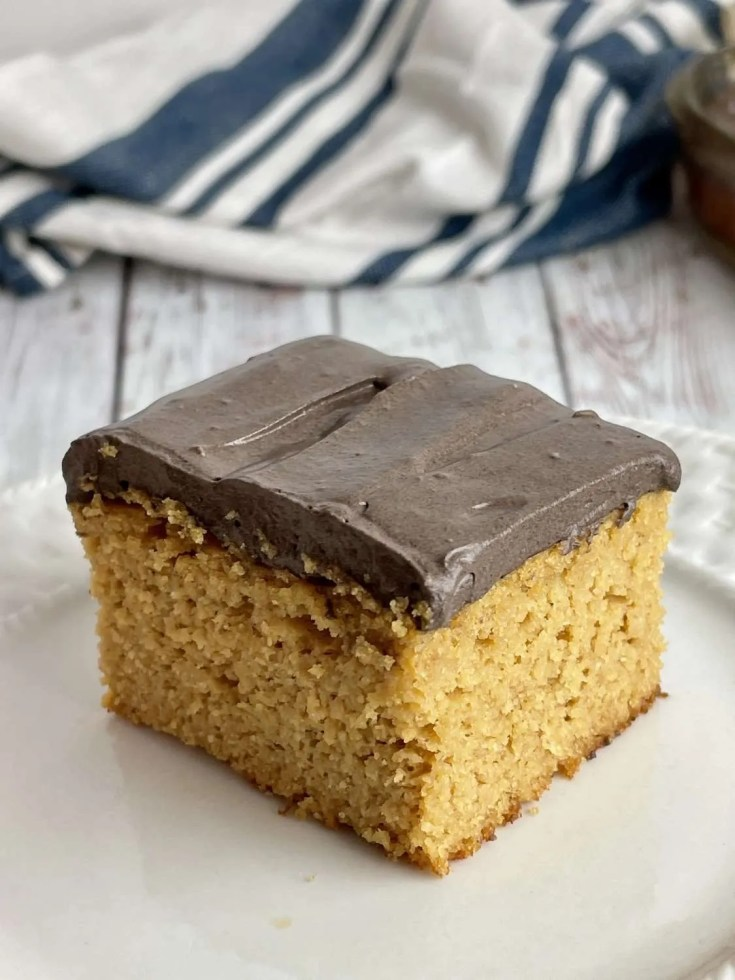 Low Carb Peanut Butter Cake