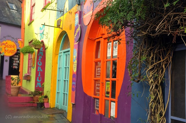 Colorful Coastal Houses