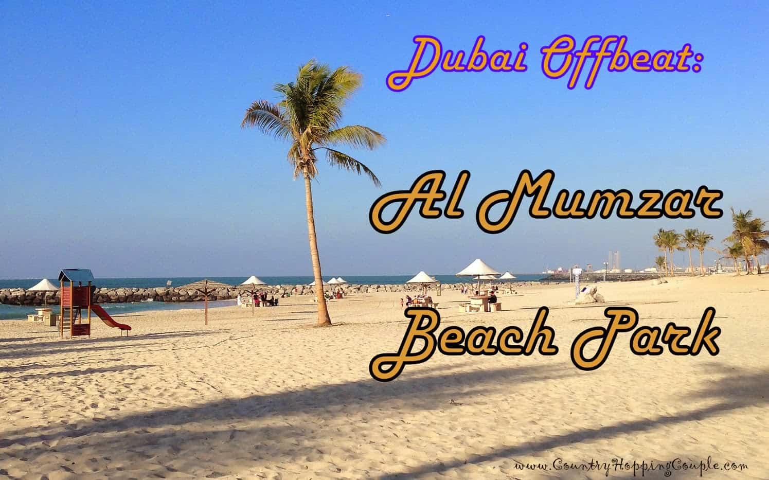 Al Mumzar Beach Park, a favourite spot for Dubaiites