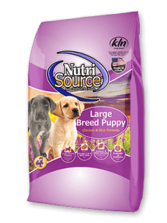 NutriSource, formulated for Large Breed Puppy