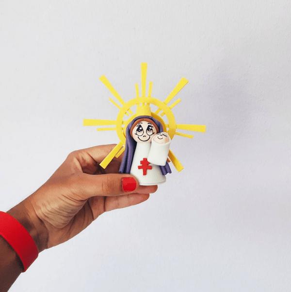 Virgen del pilar regalo