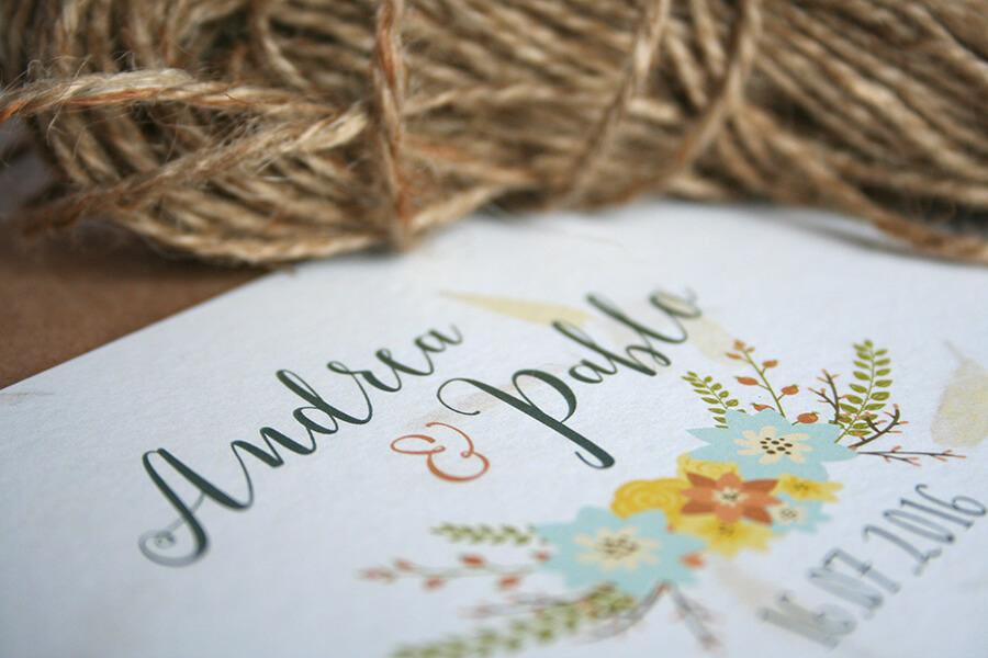 Invitaciones de boda con alma