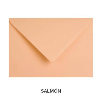 sobres de colores económicos salmón