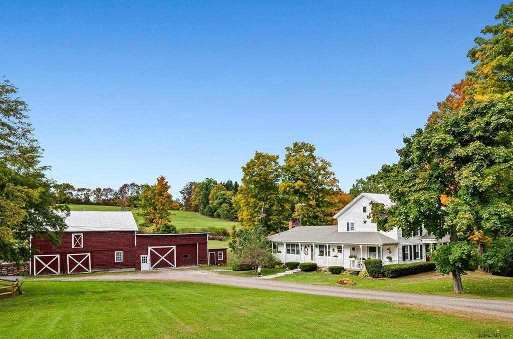 c.1898 Farm For Sale w/Brook, 30 Acres Middleburgh NY  $499,000