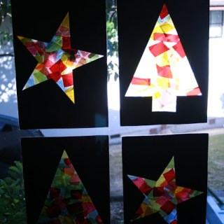 Easy Stained Glass Windows For Christmas