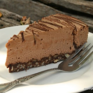 Dessert Philosophy And A {Recipe} Chocolate Hazelnut Cheesecake