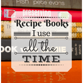 Recipe Books I Use All The Time