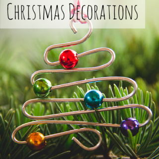 DIY | Wire And Bead Christmas Decorations